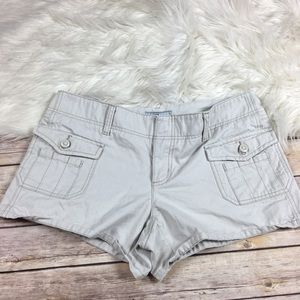 Old Navy Cute Summer Mini Shorts Ivory Size 10